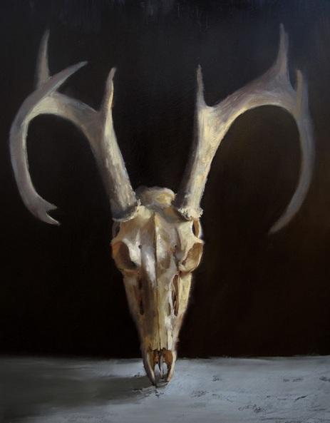 Rachel Herrera - Deer Skull
