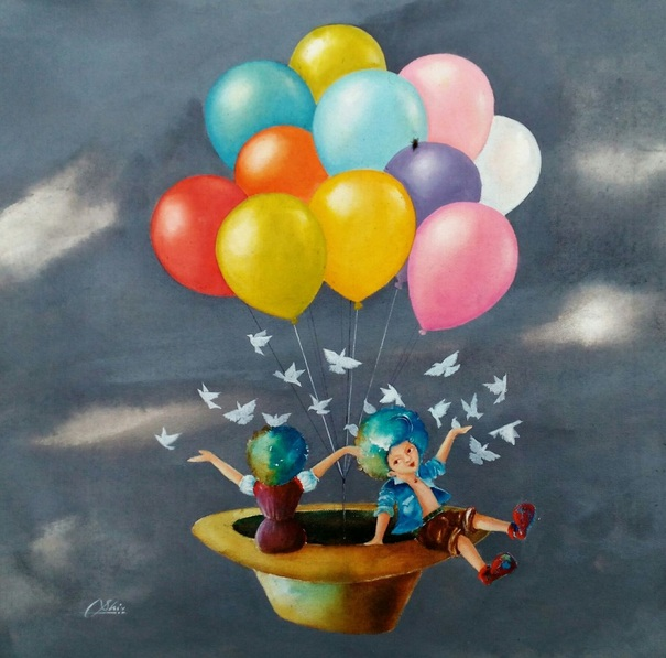 SHIV KUMAR SONI - the imaginations of childhood