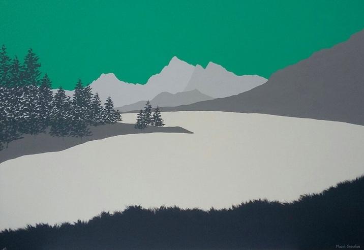 Sam Martin - Snowdon from Capel Curig, (Yr Wydffa) Snowdonia, Wales