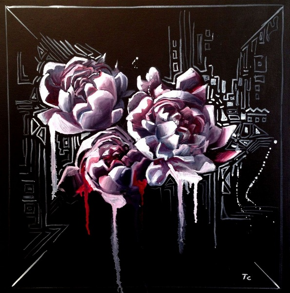 Carlo Toma - Irrational composition with peony