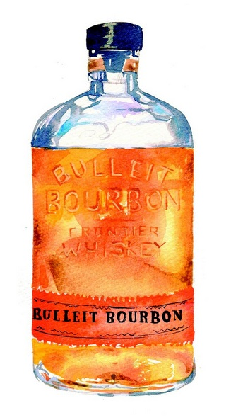 Hannah Clark - Bulleit Bourbon Bottle