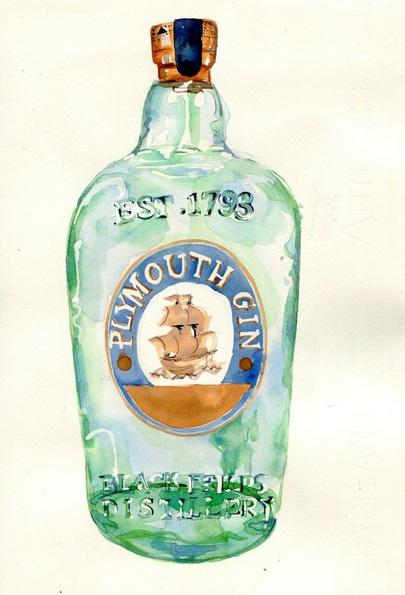 Hannah Clark - Plymouth Gin Bottle