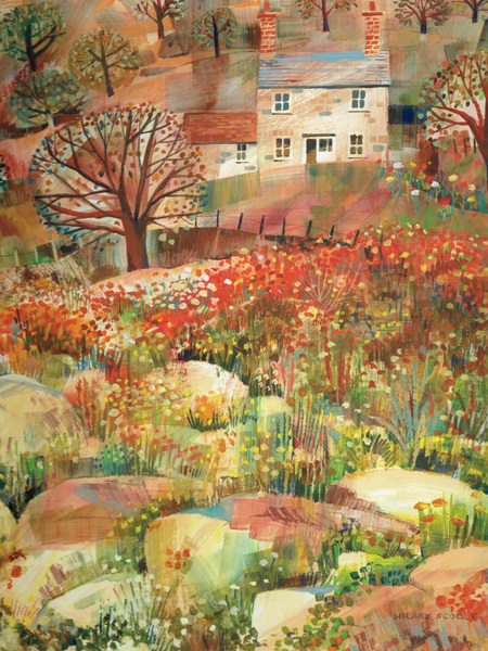 Hilary Scoble - Cornish Farmhouse