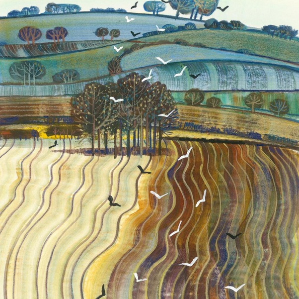 Hilary Scoble - Field Patterns on the Downs