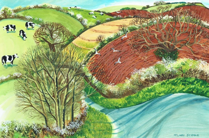 Hilary Scoble - Springtime in Devon