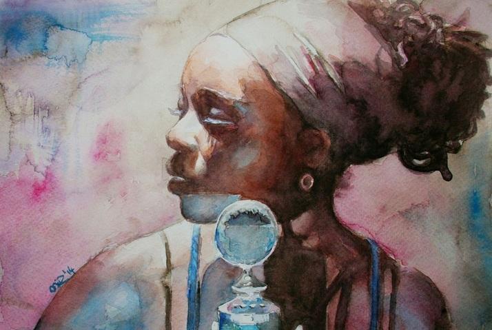 Malgorzata Miroslaw - Simply falling. Iyeoka