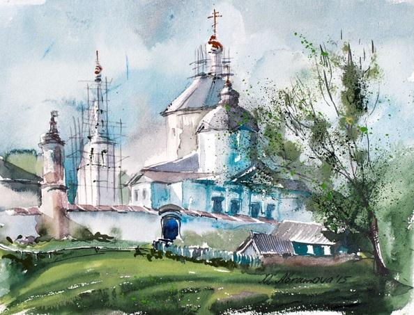 Marina Abramova - Monastery in Kolomna