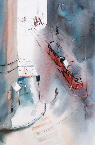 Marina Abramova - street life