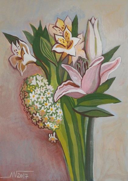 Marina Gorkaeva - Flowers (2017)