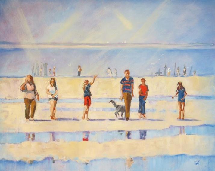Mary Kemp - Join Us! Family on the Beach.