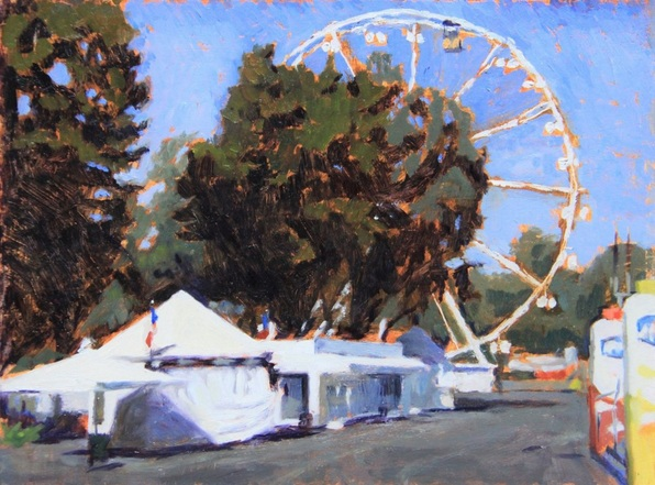 Niklas Elgmo - Ferris wheel in Cascine park