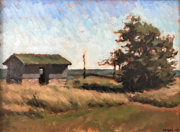 Niklas Elgmo - Fisherman's Hut in Seby #2