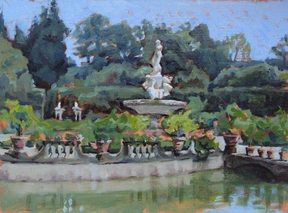 Niklas Elgmo - Ocean Fountain in Boboli Gardens