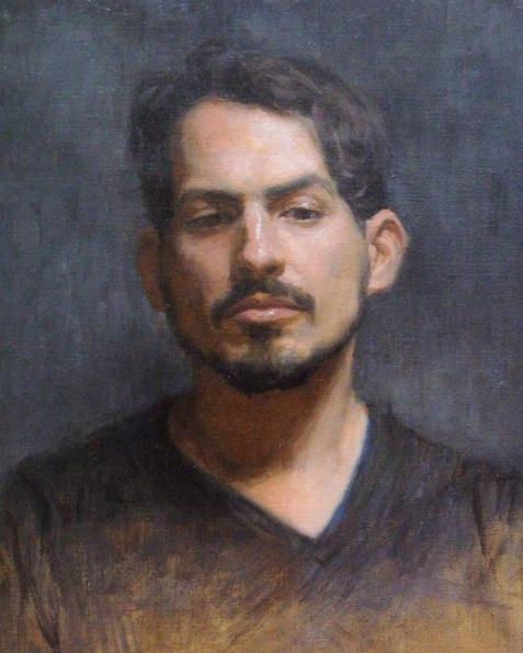 Niklas Elgmo - Portrait of Andrés