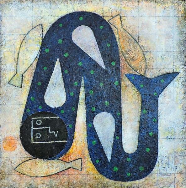 Orlando Boffill - Peces secos. Pez mojado