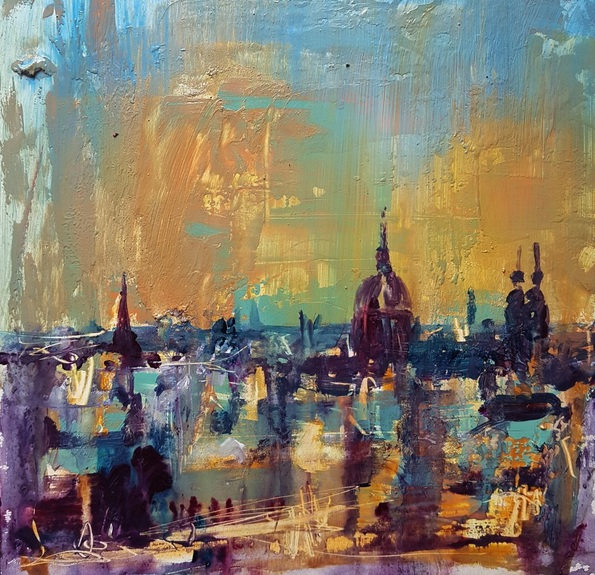 Paul Mitchell - Amsterdam Skyline 3