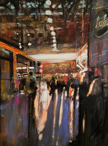 Paul Mitchell - London Waterloo, Dawn