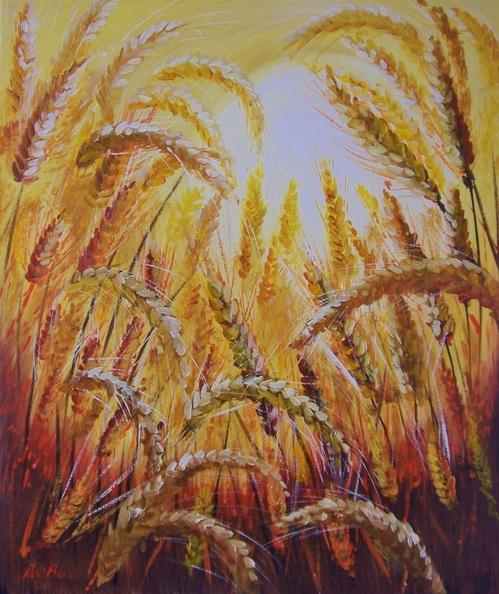 Rod Bere - Harvest Sunset