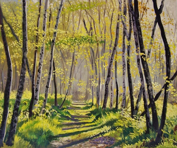 Rod Bere - Path into the woods 8