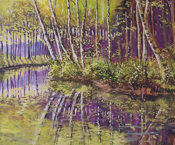 Rod Bere - Spring reflections