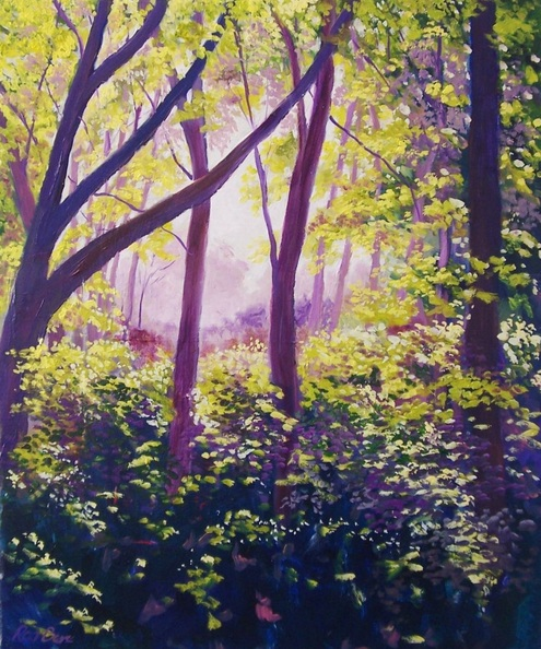 Rod Bere - Sunlight through the trees 5