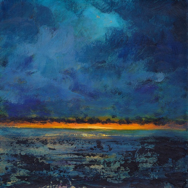Rorie Nairn - The strata of color'd clouds 9 - Ross Back Sands, Northumberland Coast