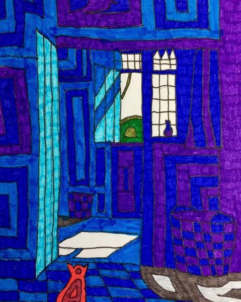 Susanne Schwarz - Blue room