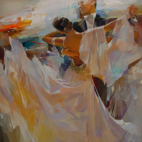Vasyl Khodakivskyi - The evening waltz