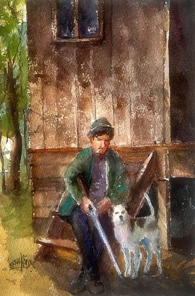 Faruk Köksal - Hunter and his Dog