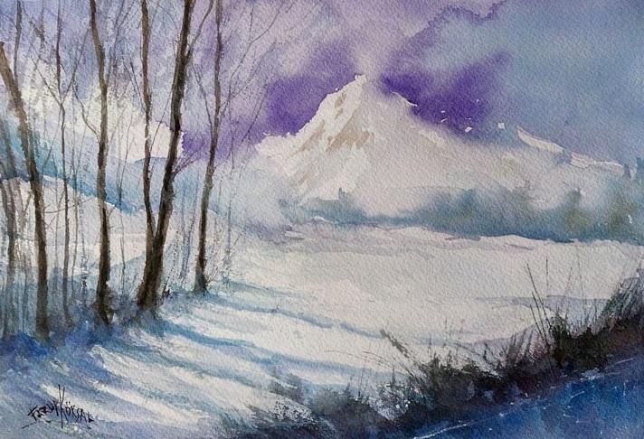 Faruk Köksal - Winter wears white
