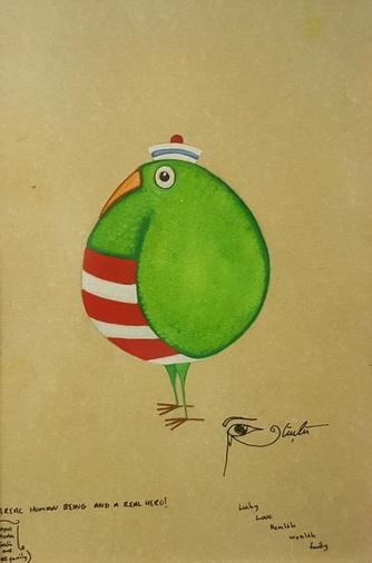 Güçlü Kadir Yılmaz - Chubby Sailor Bird I