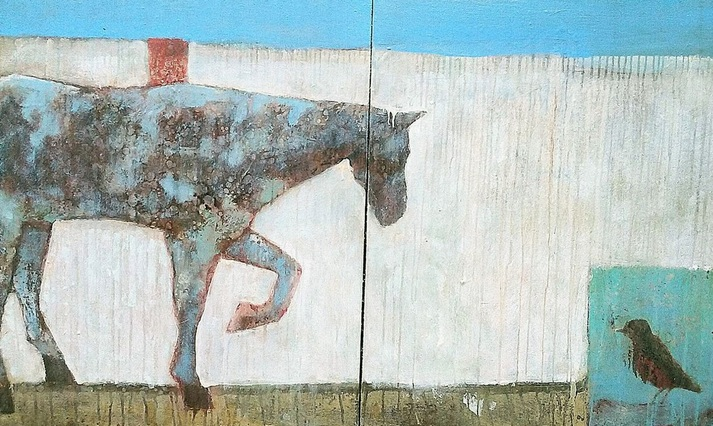 Georgianne Fastaia - Bird on the Road