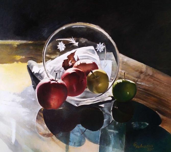 Rimas Nakrasas - Five Beautiful Apples