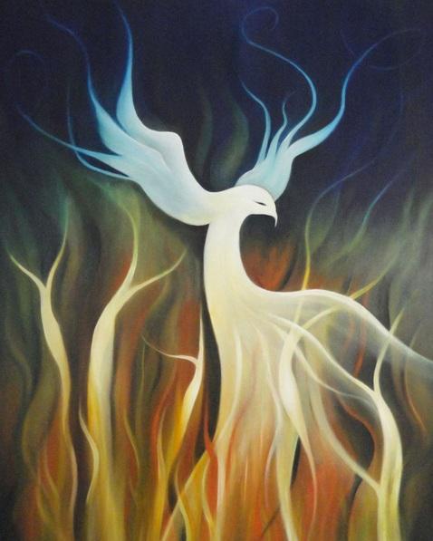 Susan Cavaliere - White Phoenix
