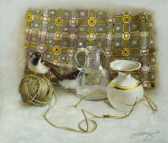 Tatyana Palchuk - Still Life with Ant