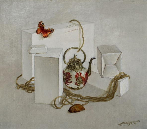 Tatyana Palchuk - Still Life with Chinese Teapot
