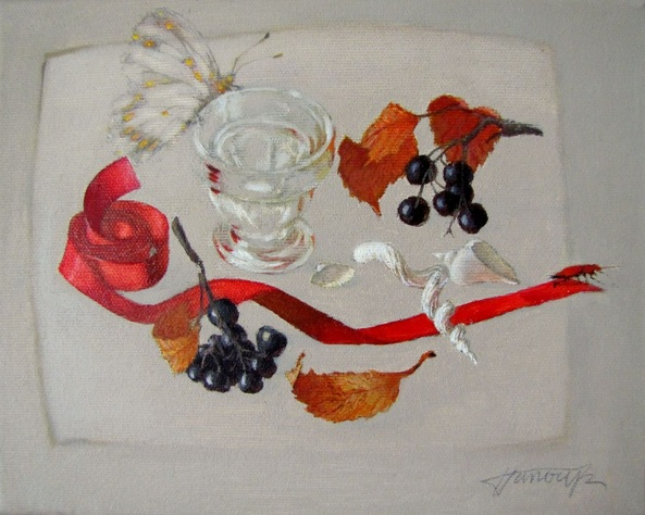 Tatyana Palchuk - Still Life with Red Beetle