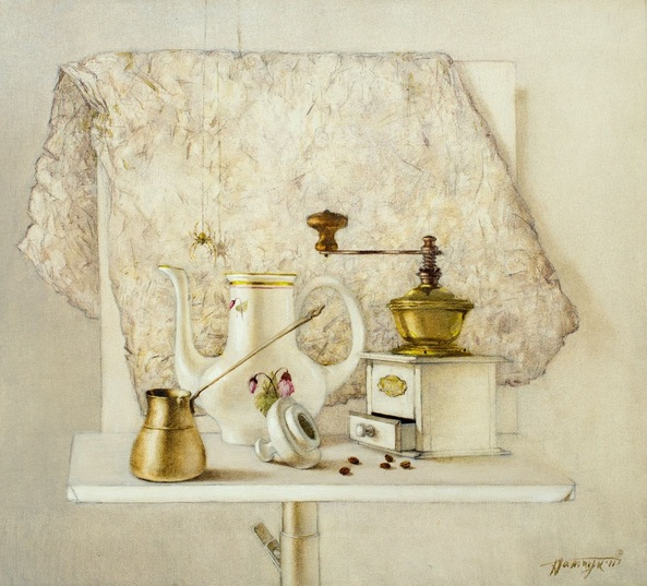 Tatyana Palchuk - Still Life with coffee-beans