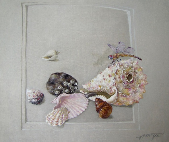 Tatyana Palchuk - Still Life with the Snail