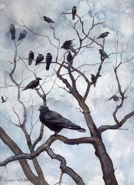 Anna Tikhomirova - Murder of Crows