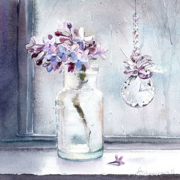 Anna Tikhomirova - Spring Drizzle