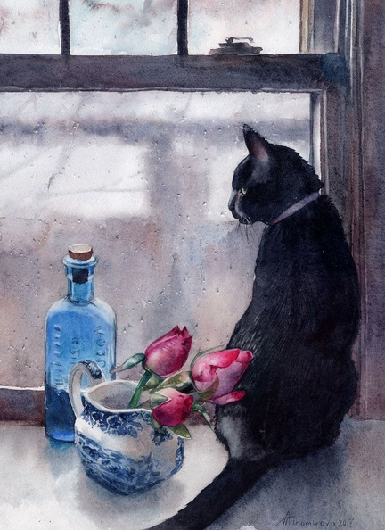 Anna Tikhomirova - Watching the Rain