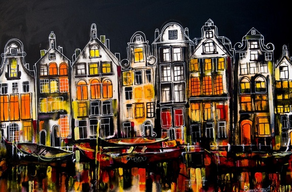 Irina Rumyantseva - Amsterdam At Night