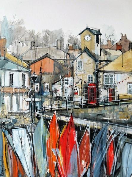 Irina Rumyantseva - Mousehole Harbour Cornwall
