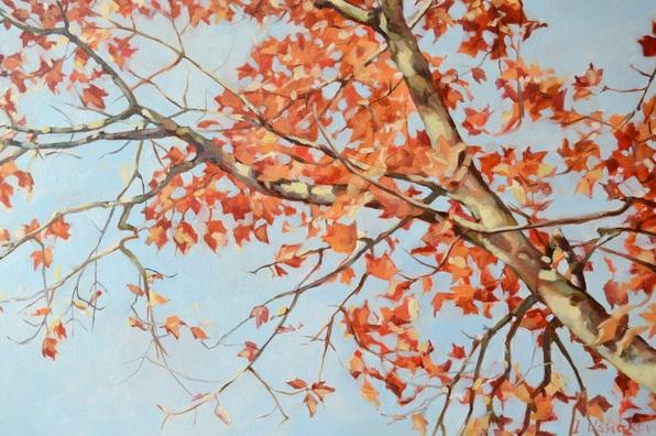 Irina Ushakova - Autumn tree