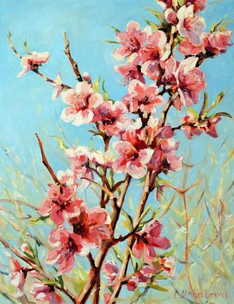 Irina Ushakova - Pink blossom
