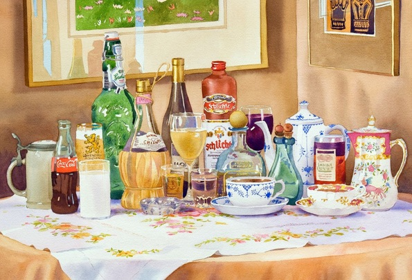 Mary Helmreich - A Collection of Drinks
