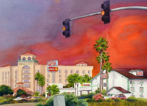 Mary Helmreich - Cedar Fire San Diego 2003