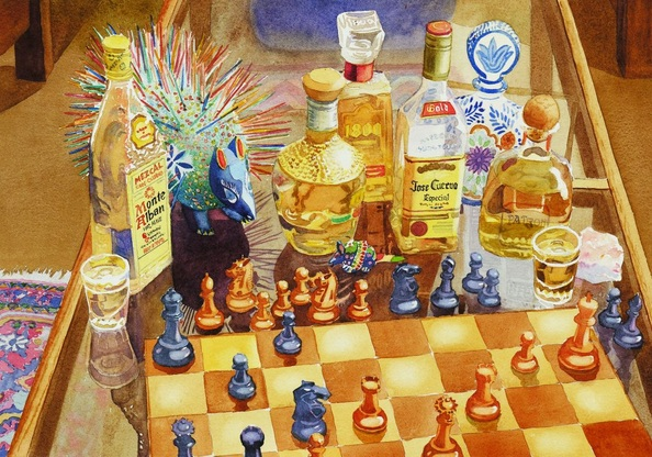 Mary Helmreich - Chess and Tequila