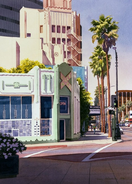 Mary Helmreich - Gale Cafe on Wilshire Blvd Los Angeles